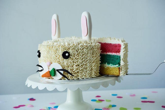 Buttercream Bunny Cake by Bluprint Instructor Lyndsay Sung