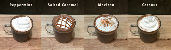 Four Hot Chocolate Recipes to Keep You Warm All Winter Long