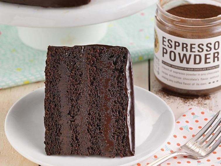 Espresso Powder Cake