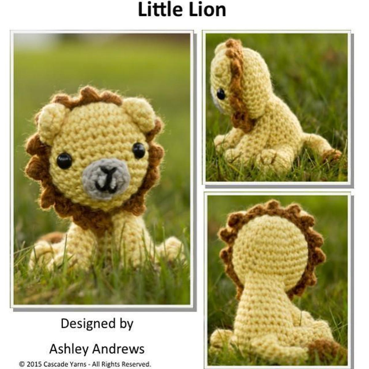 Little Lion FREE Crochet Pattern