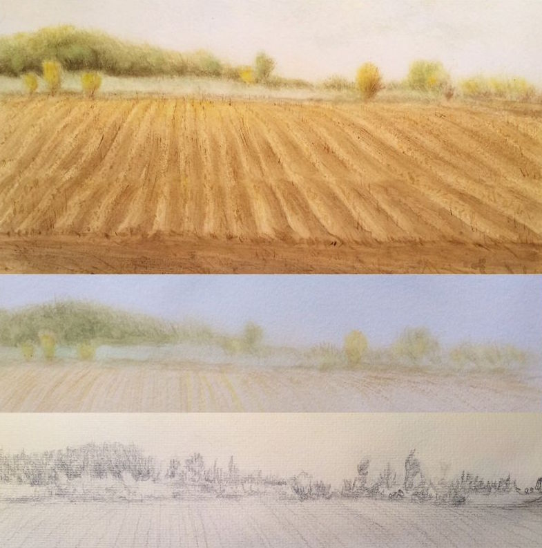 Steps of Painting a Landscape