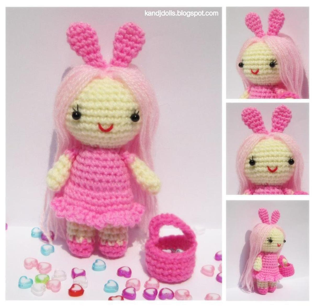 Pink Little Lady Crochet Doll Pattern