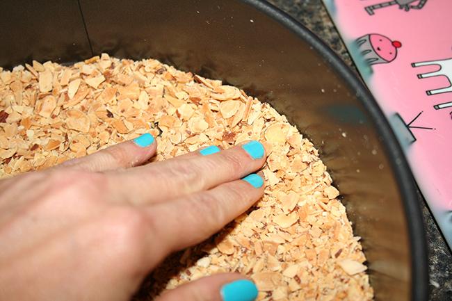 Almond crust for tart