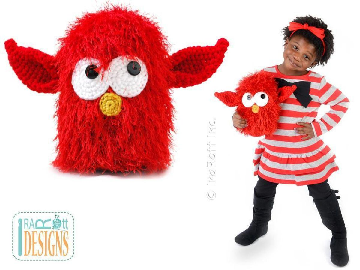 Sparky the Lava Monster FREE Crochet Pattern