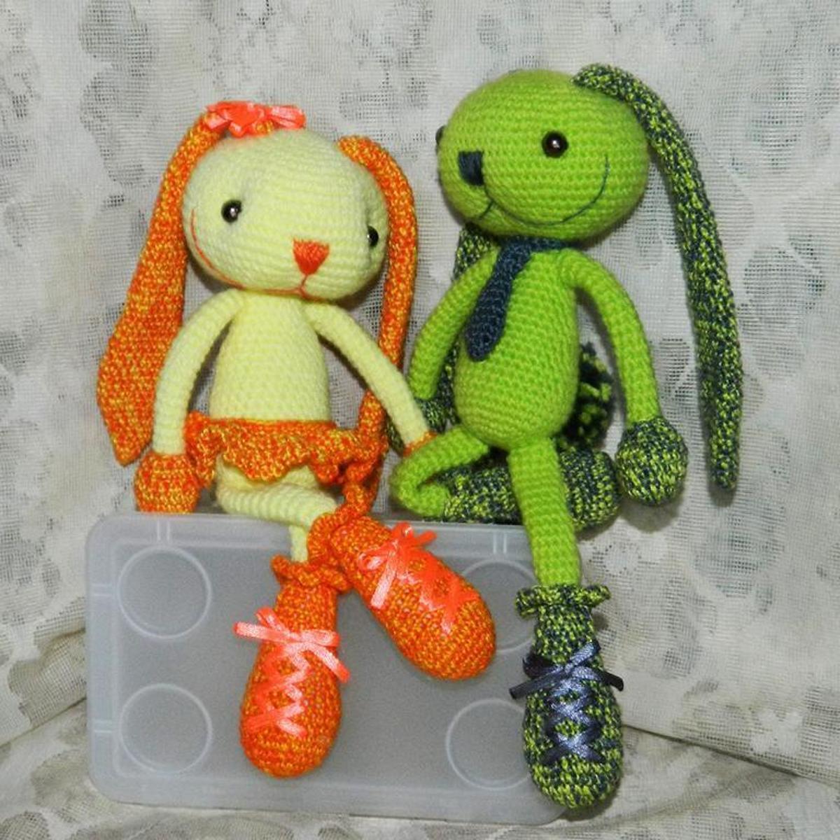 Sweet Amigurumi Hares Crochet Pattern