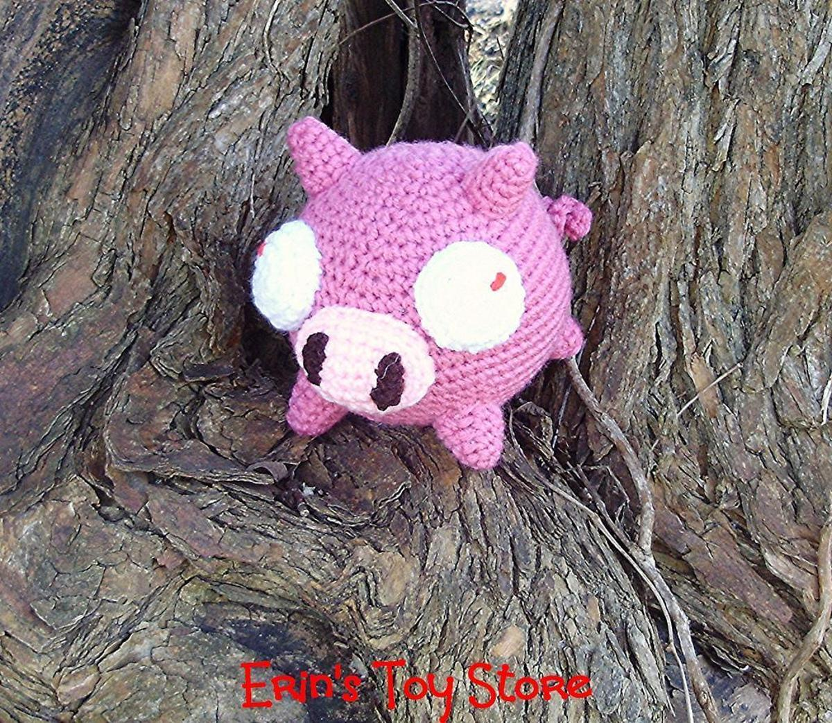 Free Pig Crochet Pattern