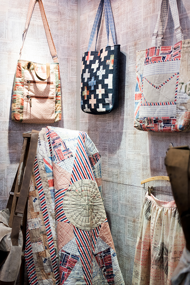 Quilts and Bags from Tim Holtz Collection
