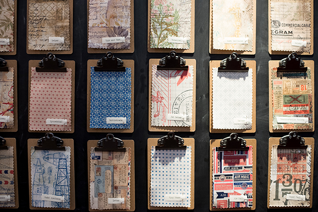 Tim Holtz Correspondence Collection