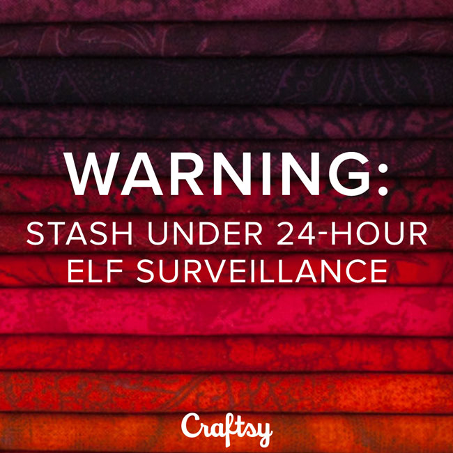 Warning: Stash Under 24-Hour Elf Surveillance