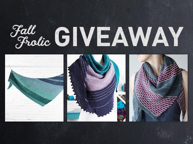Fall Frolic Knitting Giveaway