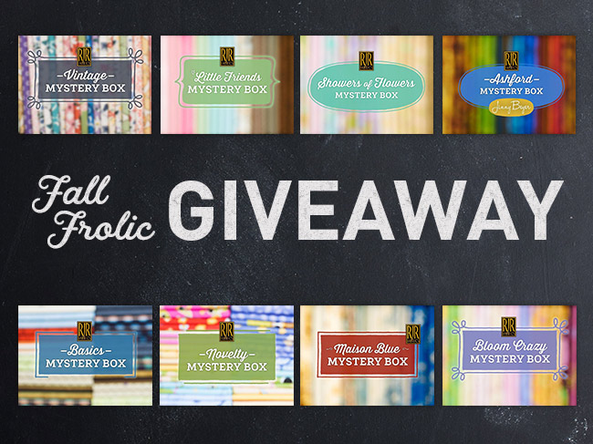 Fall Frolic Quilting Giveaway