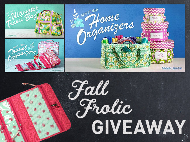 Fall Frolic Sewing Giveaway