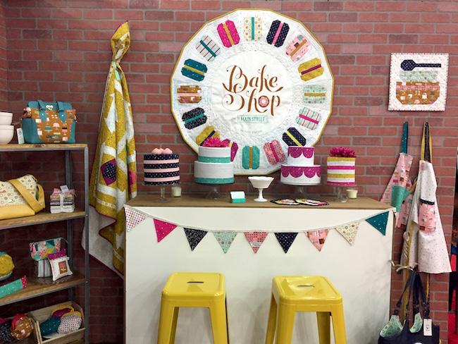 Bake Shop Booth at Quilt Market