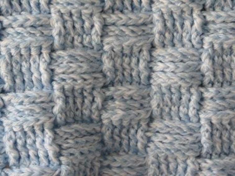 Basketweave Crochet Stitch