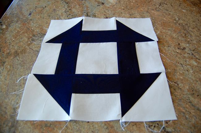 How to Make a Churn Dash Quilt Block