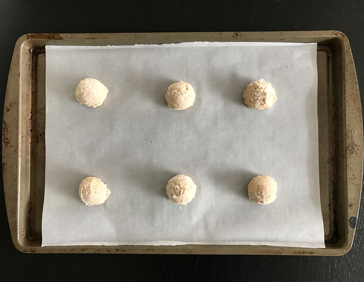 Eggnog Cookie Dough Ready to Bake