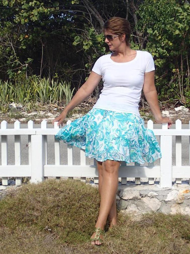 Free Tiered Summer Skirt Pattern - So Sew Easy