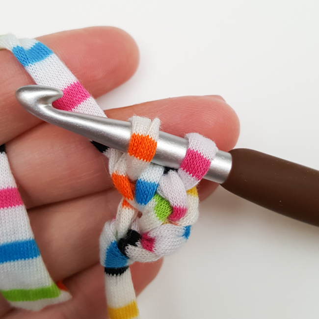 How to Crochet Rope: Step 7