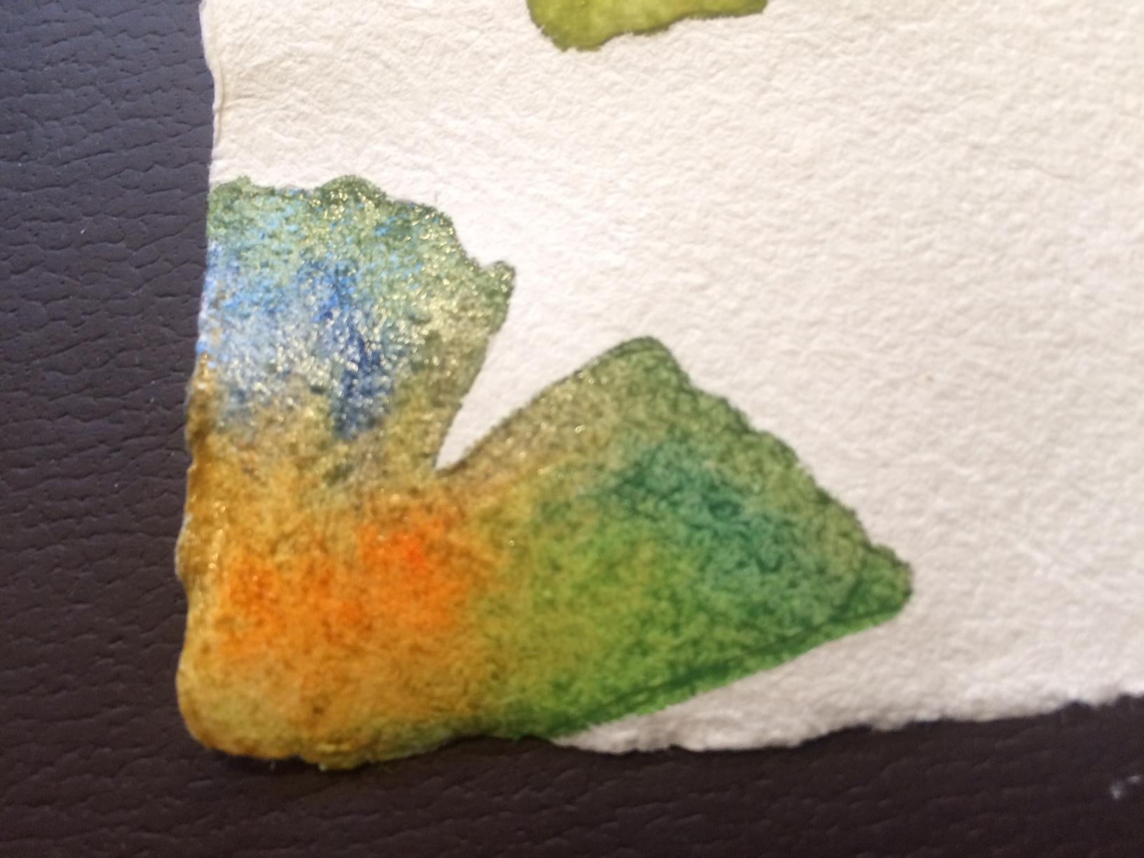 Watercolor Leaf