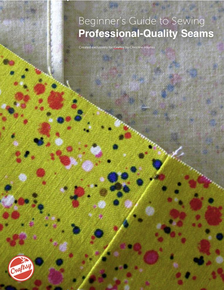 sew professional seams guide