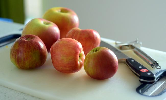 Fresh Apples for Easy Homemade Apple Butter
