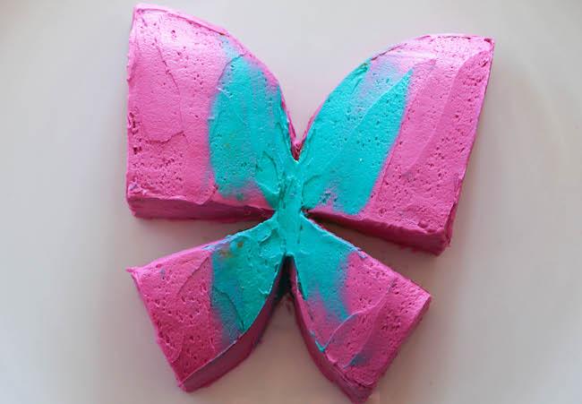 Iced Butterfly Cake | Erin Gardner | Bluprint