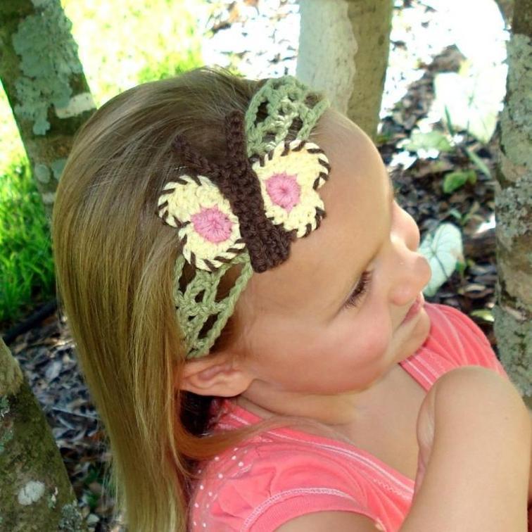 butterflyandflowerheadButterfly and Flower Headbands
