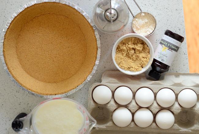 Ingredients for Buttermilk Pie
