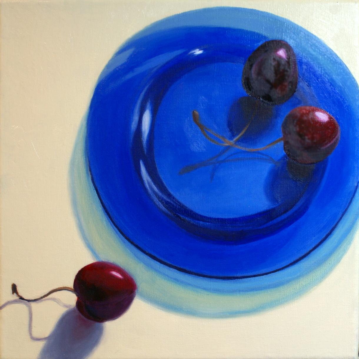 Cherry Trio by Dorothy Lorenze