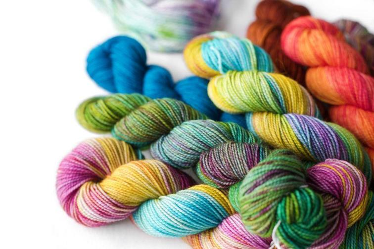 Creating Complex Colorways with Hand-Dyed Yarn