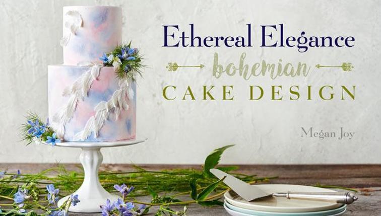 Ethereal Elegance: Bohemian Cake Design