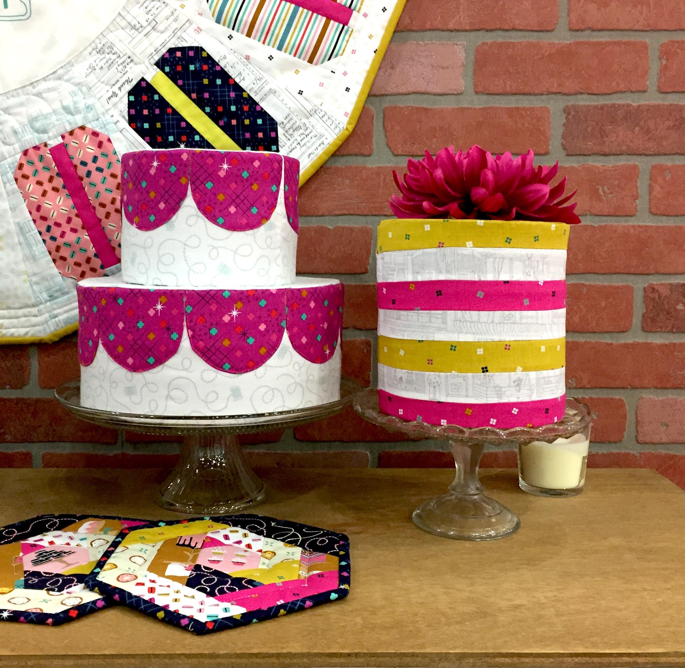 fabric cakes
