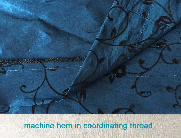 hem by machine