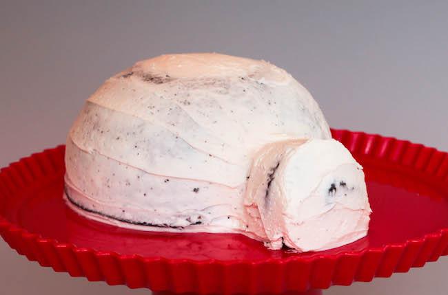 Crumb Coated Cake