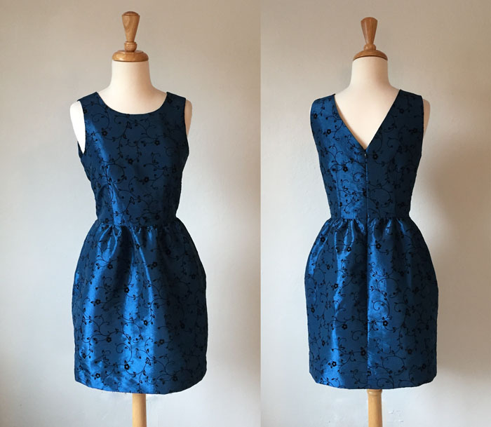 party dress front and back
