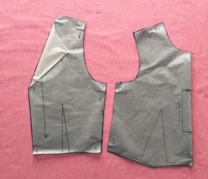 bodice pattern pieces