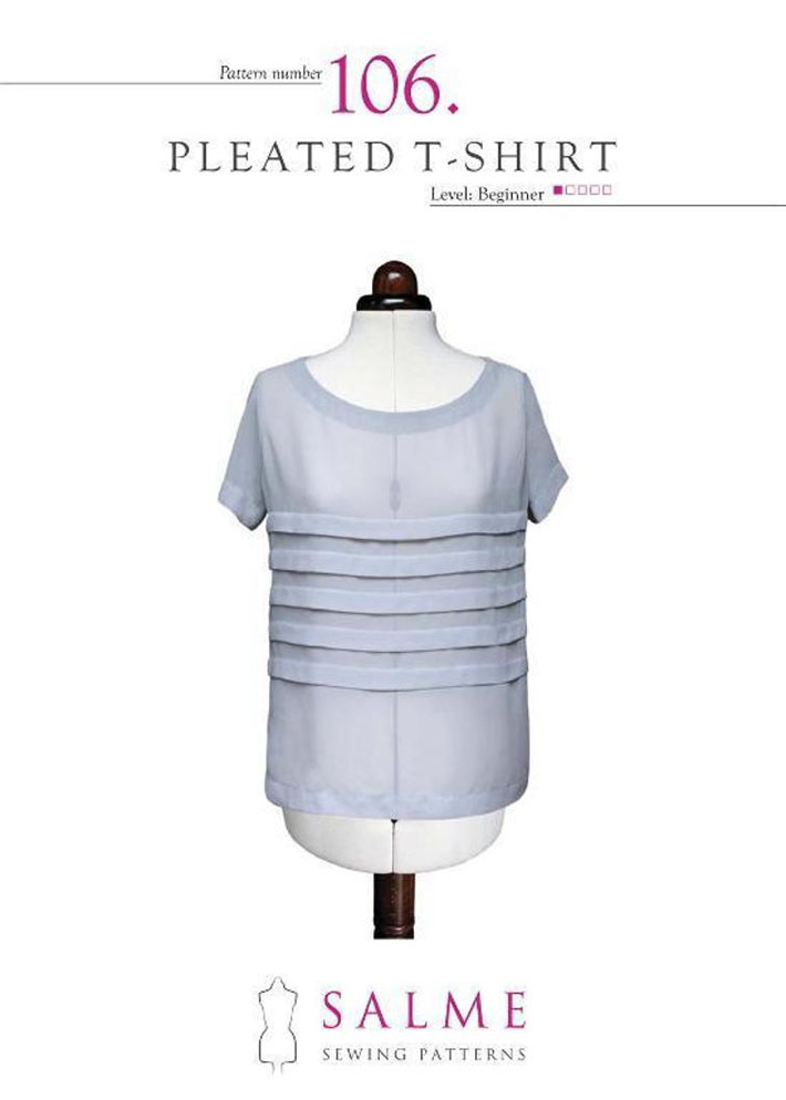 pleated t-shirt from Salme