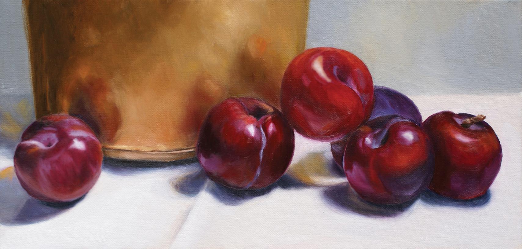 Plum Jam Kettle by Dorothy Lorenze