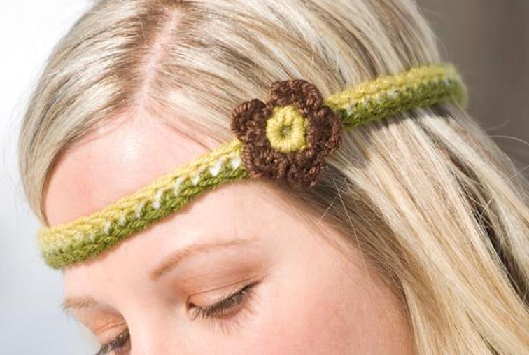 Retro Headband Crochet Pattern