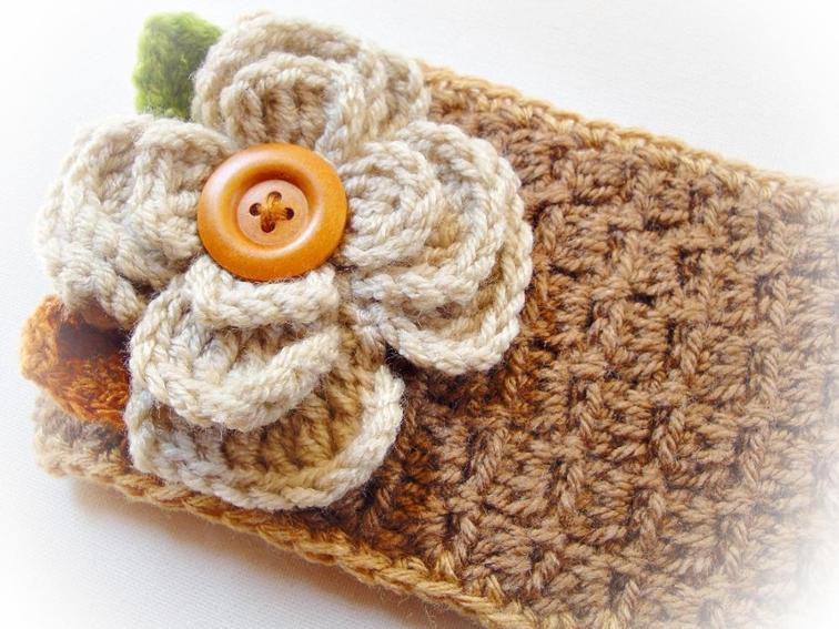 Rositta Crochet Headband Pattern