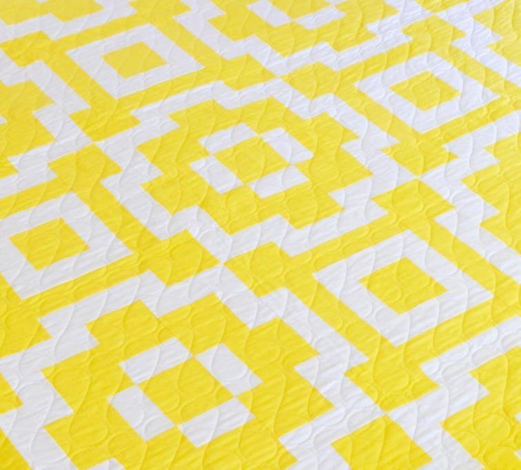 Sunshine Tiles quilt pattern