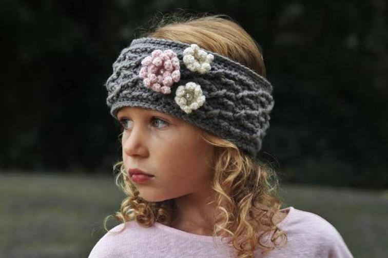 The Carys Crochet Headband