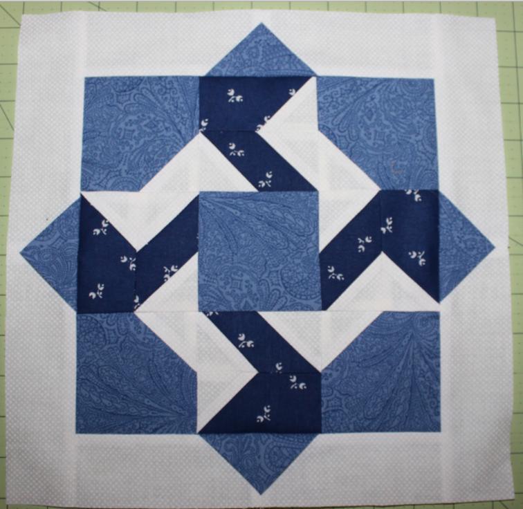 Blue Block 4