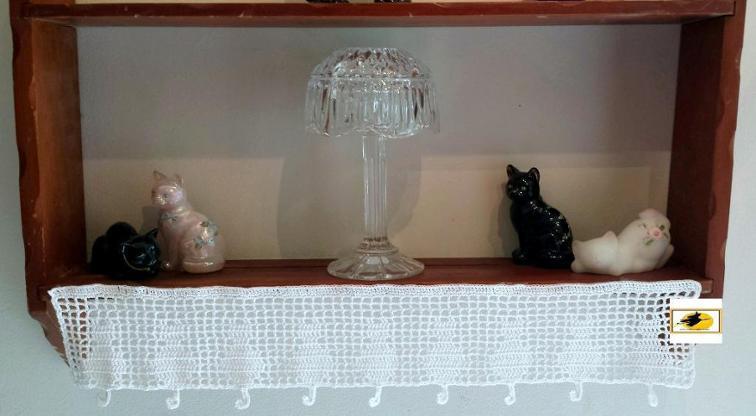 Feline Crochet Edging