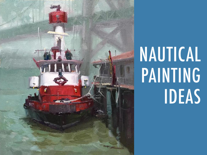 Nautical painting ideas