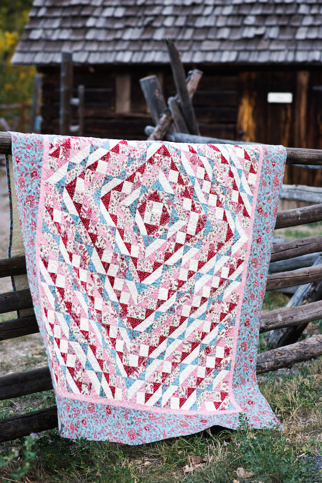 Boundless Heirloom Bloom Quilt