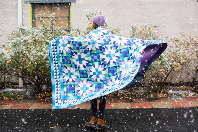 Color Crystals Quilt Kit