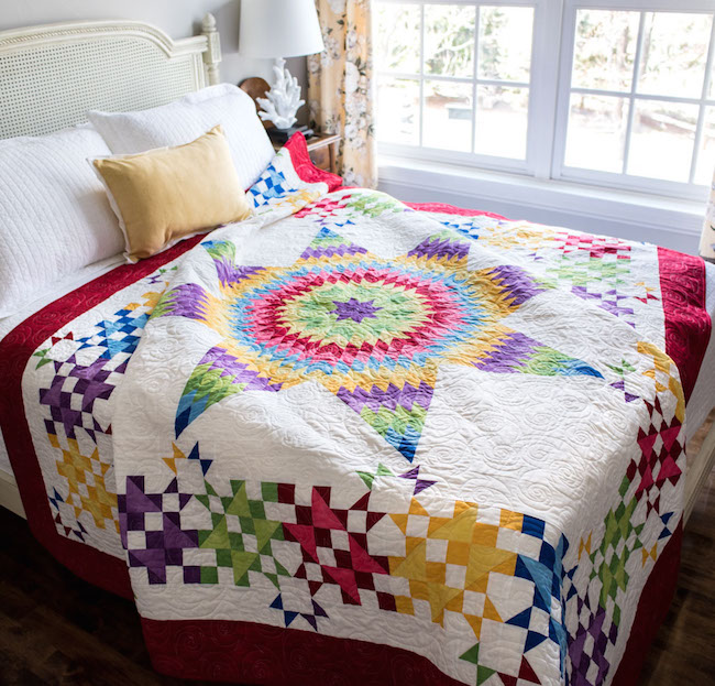 Radiant Rainbow Quilt