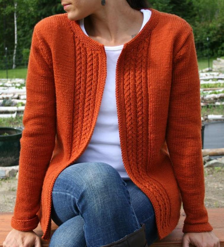 Casual Cardigan Knitting Pattern