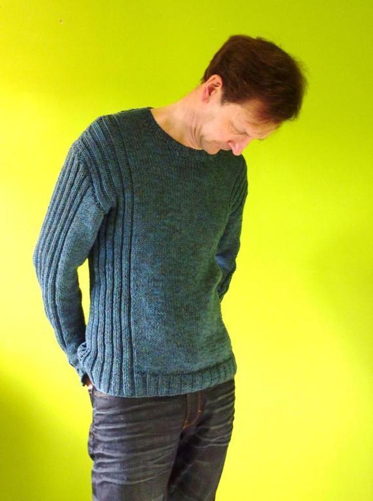 Colum Sweater Knitting Pattern